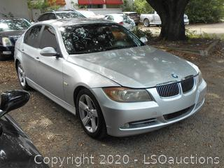2007 BMW 335I - KEY / STARTED