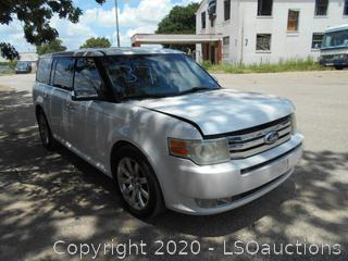 2009 FORD FLEX LIMITED - KEY / STARTED