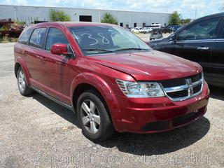 2009 DODGE JOURNEY SUV - KEY / STARTED