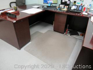 DESK & SIDE RETURN