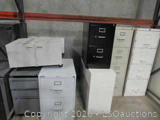 (10) FILE CABINETS