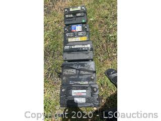 (5) CAR BATTERIES