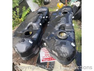 (2) BMW X3 GAS TANKS